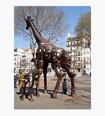 Giraffe Sculptures, Marseilles, France 2012 Photographic Print