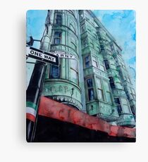 Kearny Street Canvas Print