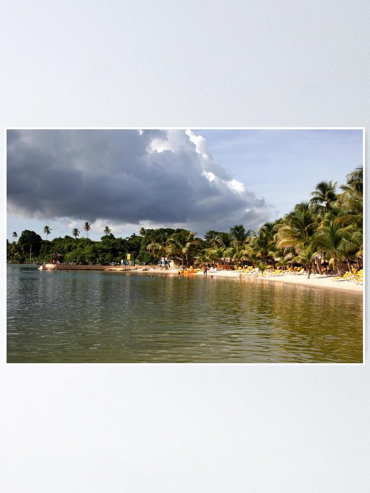 Alternate view of Coconut Bay, Tobago Poster