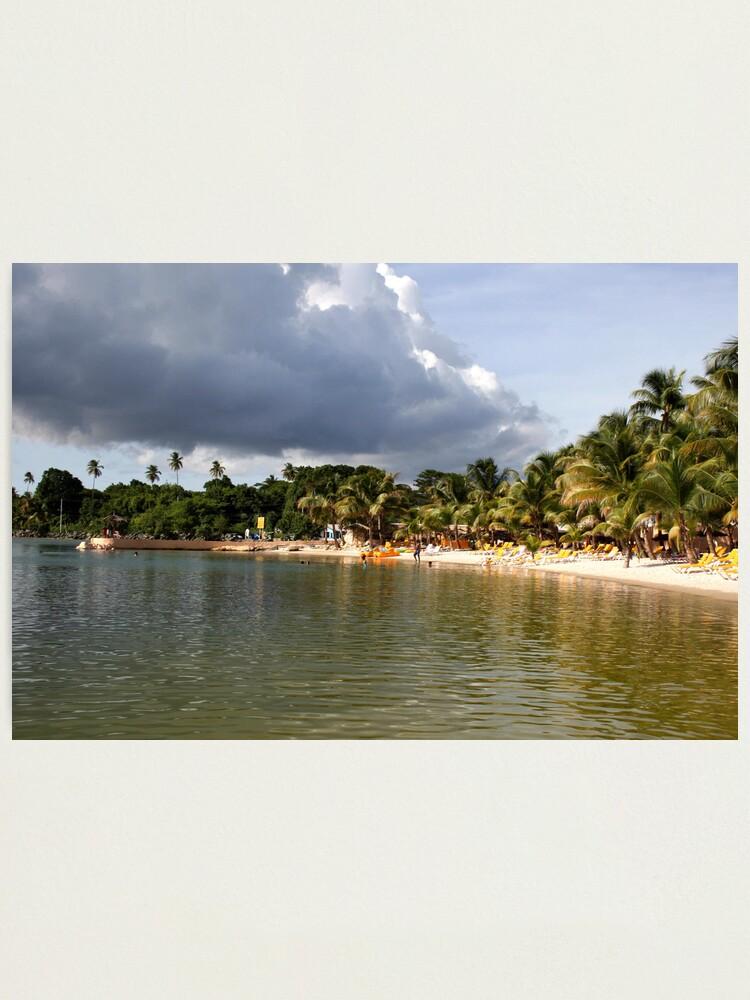 Alternate view of Coconut Bay, Tobago Photographic Print