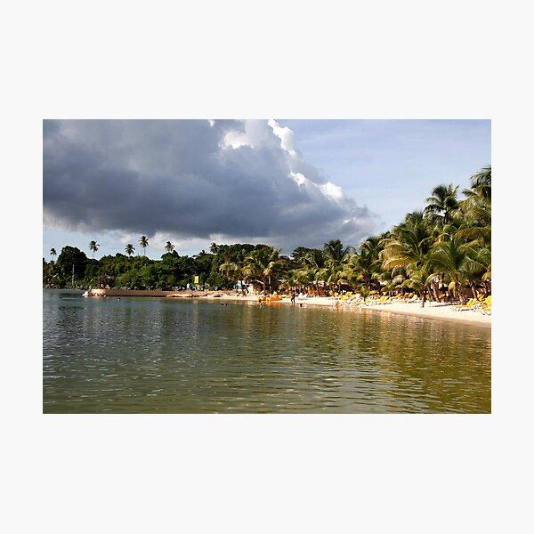 Coconut Bay, Tobago Photographic Print
