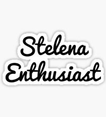 Stelena Enthusiast Sticker