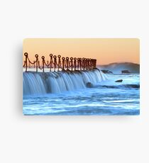 Newcastle baths Canvas Print