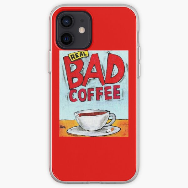 REAL BAD COFFEE iPhone Soft Case