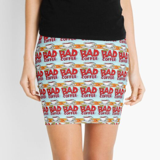 REAL BAD COFFEE Mini Skirt
