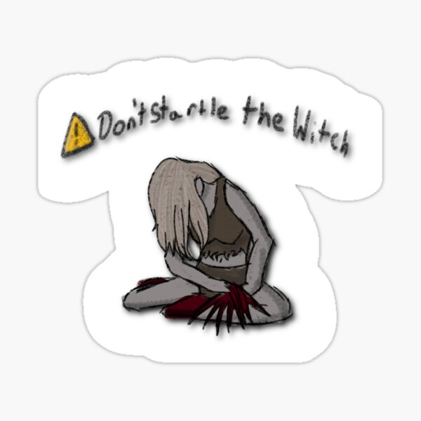 Don't startle the witch Sticker