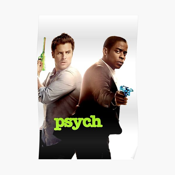 Psych design Poster