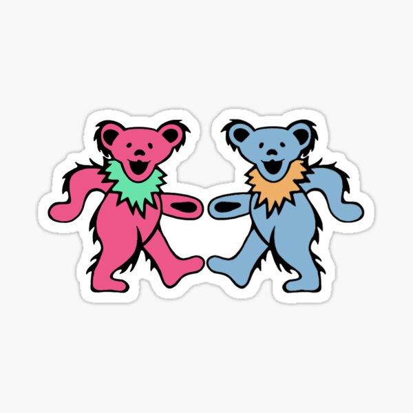 Dancing Bears Couple Sticker
