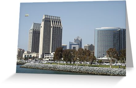 "Cityscape of Beautiful, Sunny, San Diego, ""The Tool Box!"" by seeingred13"