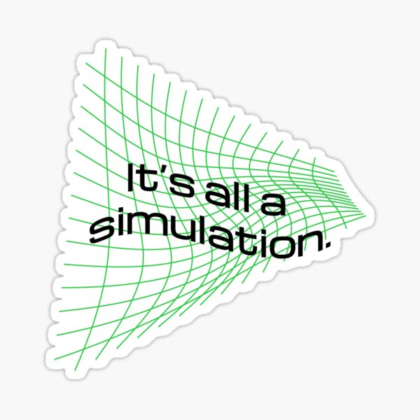 Simulation Sticker