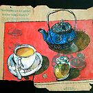 A pot of Earl Grey by Evelyn Bach