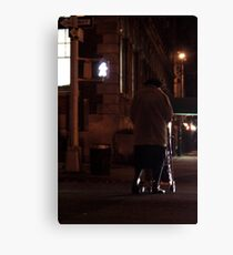 Greenwich Village Walk Canvas Print