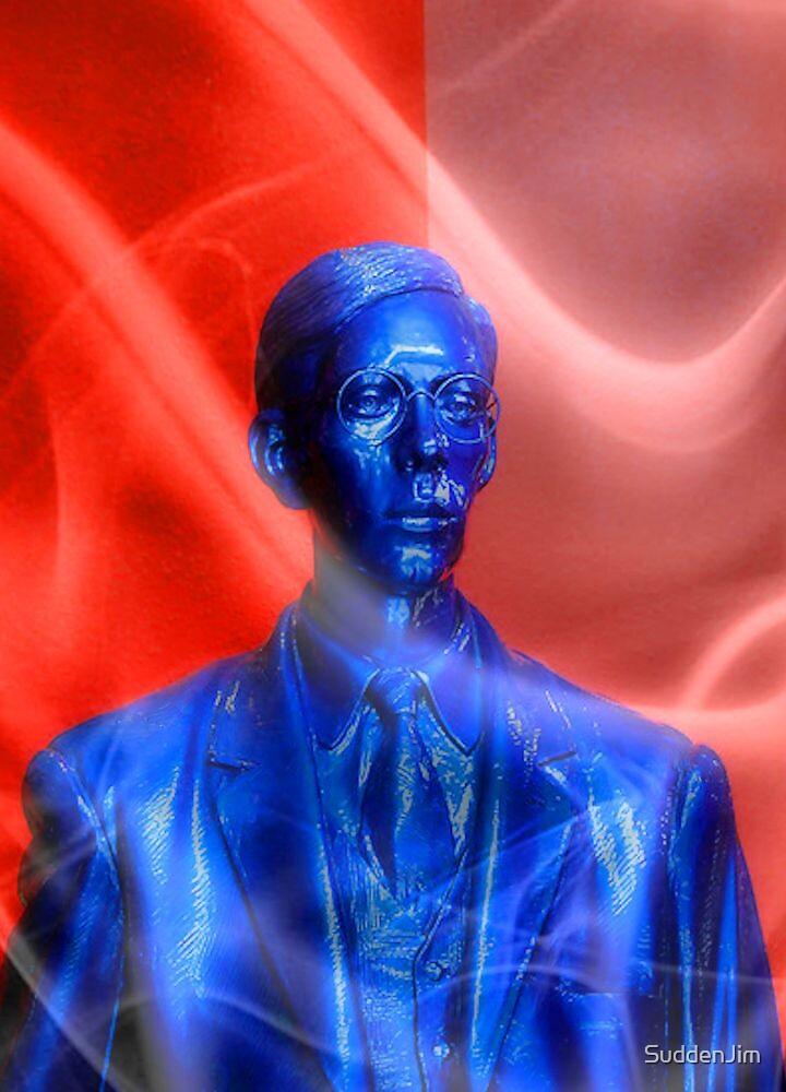 Blue MAN by SuddenJim