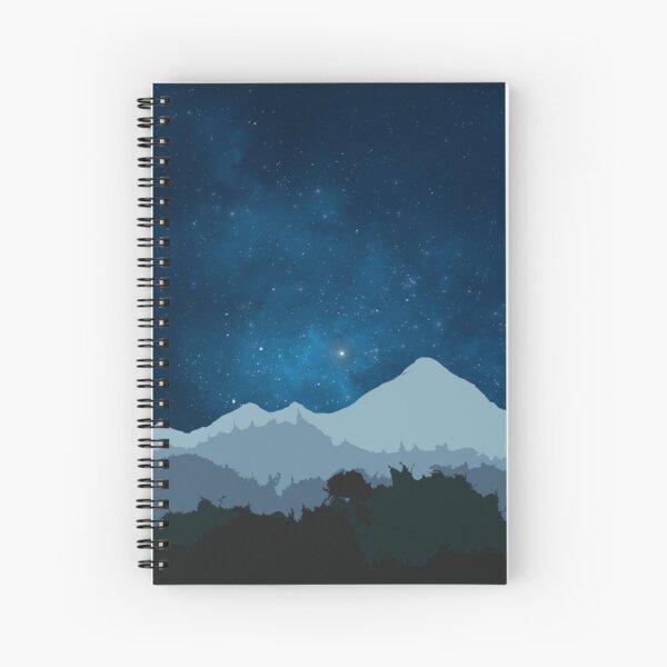 Cuaderno de tapa blanda A4 - estrellas Cuaderno de espiral
