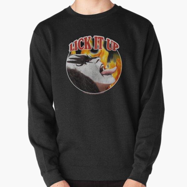 Lick It Up! (KISS Design) Pullover Sweatshirt