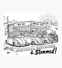 Waffle Haus .................. Scattered , Smothered & Slammed Photographic Print