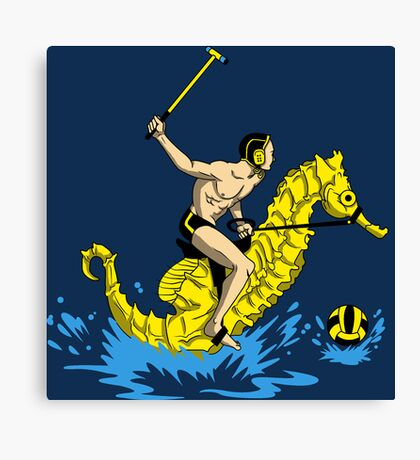 Real Water Polo Canvas Print