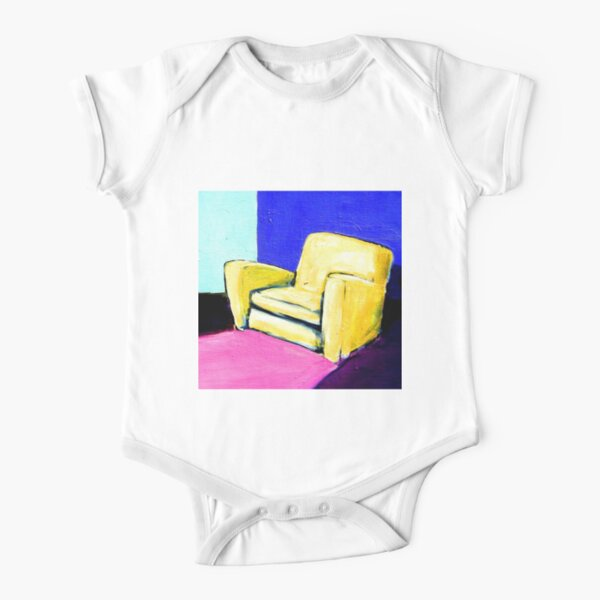 COMFY CHAIR Short Sleeve Baby One-Piece