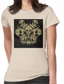 skull tattoo Womens Fitted T-Shirt