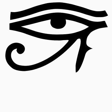 Ojo de Horus (negro) de cadellin