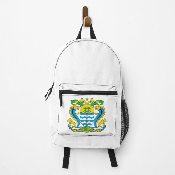 Seal of George Town, Malaysia Backpack