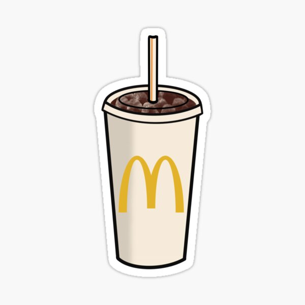 McDonalds Coke Sticker