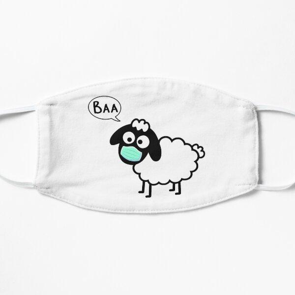 Sheeple follow me - just not too close - cute & funny sheep medical mask art - Baa Mask