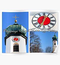 Pilgrimage church Maria Egg Peiting Poster