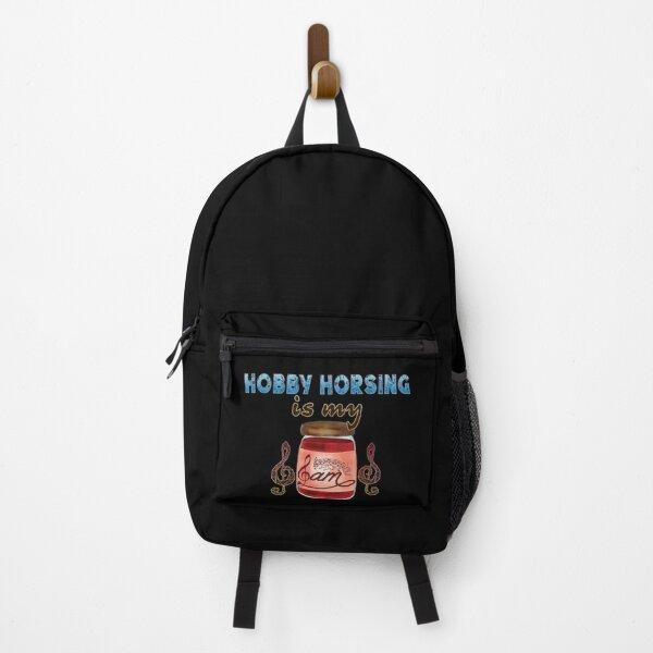 Hobby Horsing Is My Jam Backpack