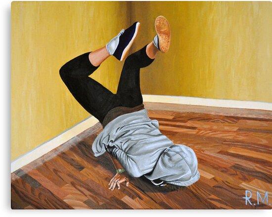 The Street Dancer by ArtByRM