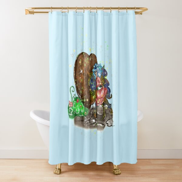 Doharn Pip The Doors & Windows Fairy™ Shower Curtain