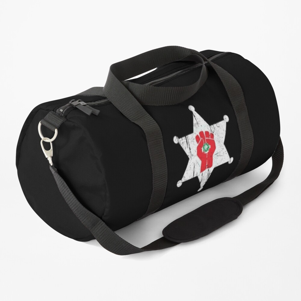 Gonzo Sheriff Hunter S Thompson Duffle Bag