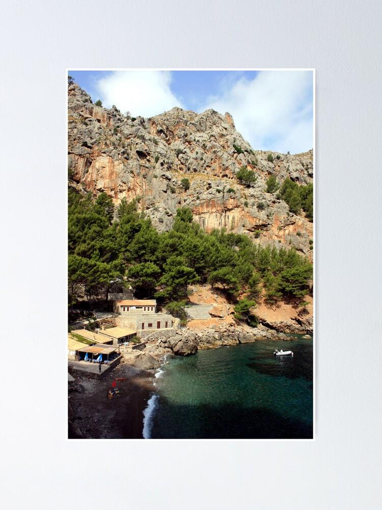 Alternate view of Sa Calobra, Mallorca Poster