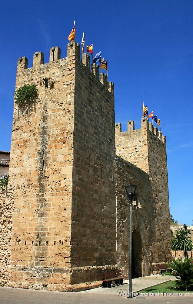 Gate of the City Walls, Alcúdia by Wayne Gerard Trotman