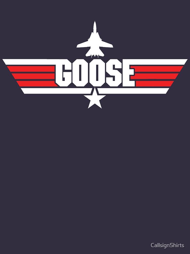 Custom Top Gun Style - Goose | Unisex T-Shirt