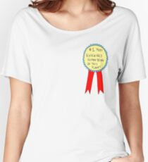 Badge for Awkwardness Women's Relaxed Fit T-Shirt