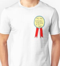 Badge for Awkwardness Unisex T-Shirt