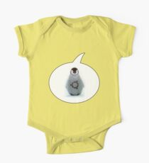 """Ubuntu"" Baby penguin tattoo Kids Clothes"