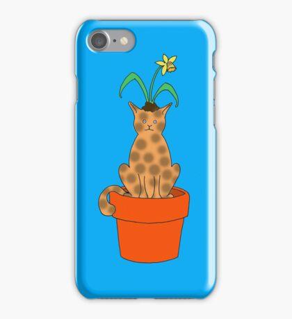 Daffy Cat iPhone Case/Skin