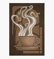 Coffee Nouveau Photographic Print