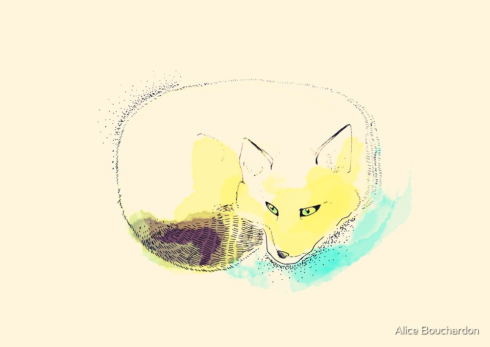 Fox by Alice Bouchardon