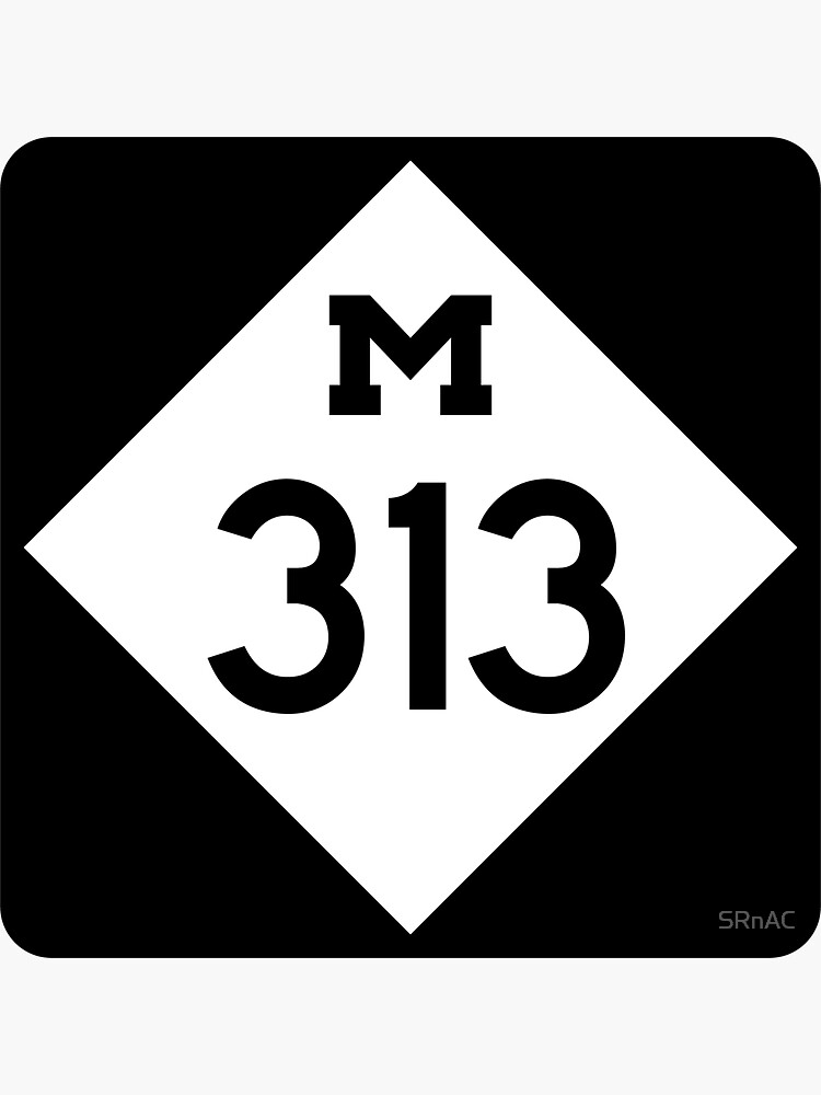 Michigan State Route 313 (Area Code 313) by SRnAC