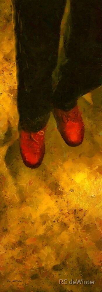 Witch Walking by RC deWinter