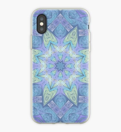 Faded Fracal Kaleidoscope for iPhone, iPod iPhone Case