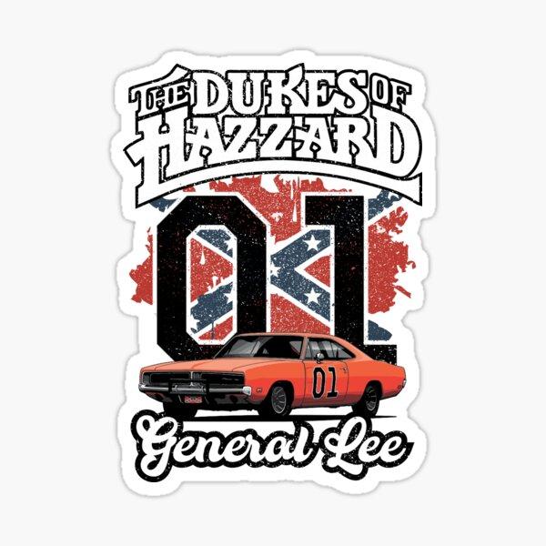 The Dukes Vintage Sticker