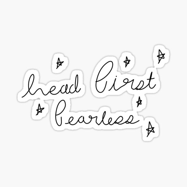 Taylor Swift Fearless Stickers Redbubble
