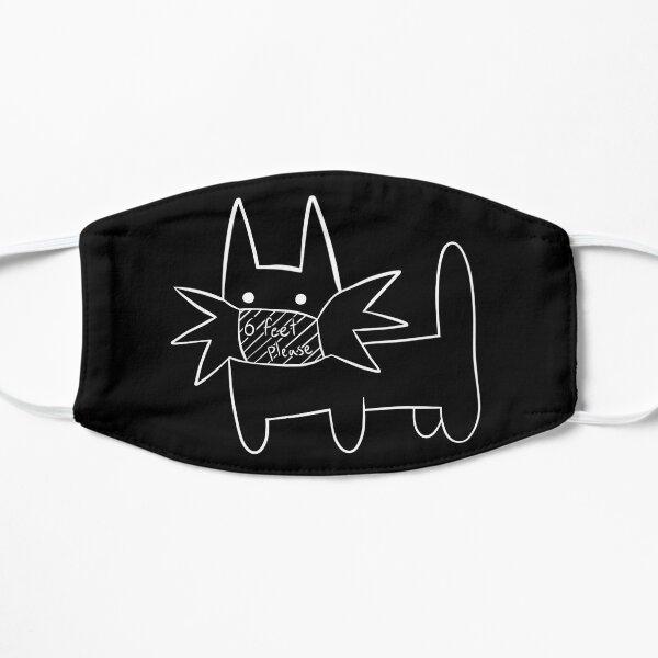 Masked Gay Cat Flat Mask