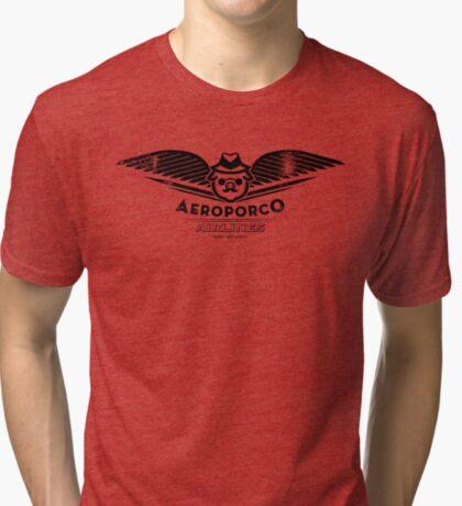 AeroPorco Tri-blend T-Shirt