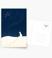 Winter Night Postcards