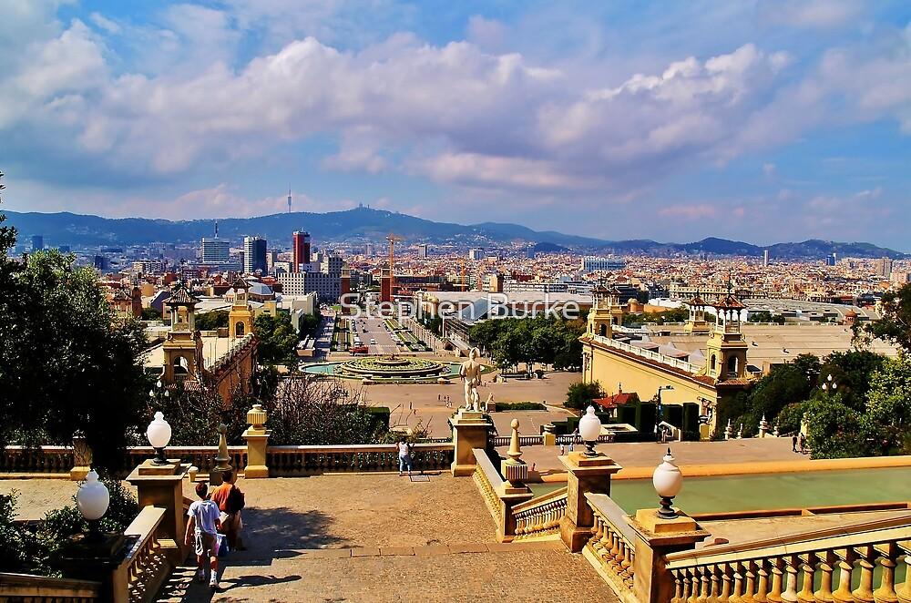 Barcelona by Stephen Burke